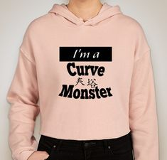 Can your curves handles this hoodie? Order one today! Curvy Models, Hoodies, Sweatshirts, Monsters, Curves, Graphic Sweatshirt, Design, Fashion, Moda