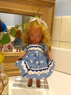 Nancy Ann Storybook Doll  Here I Am Little by Jewelmoon on Etsy