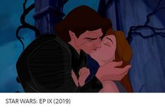 beauty and the beast / starwars crossover #starwars #episodeIX #savebensolo