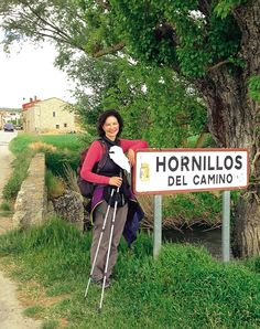 A Pilgrimage from Humbled to Healed by Sonia Choquette Sonia in the village of Hornillos del Camino, near Burgos