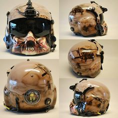 Custom painted flight helmet by Art by Mieke, with 171 Aviation Squadron emblem, Black Hawk helicopters in action and formation, with a ground war scene and predator on the mouth guard. All airbrushed with illustration paints and 2K cleared. I am based on the Sunshine Coast, Queensland, Australie. artbymieke@gmail.com and I will ship. www.facebook.com/artbymieke or www.artbymieke.com #airbrush #helmet #flighthelmet #predator #helicopter #blackhawk #aviation #airbrushed #custompaint #custom