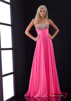 0b806f4992 Popular Beading Sweetheart Long Prom Dresses 2015 Pink Evening Party Gowns  Empire Chiffon Strapless New. Jasz Couture