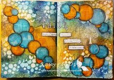 Art Journaling - Complementary colors