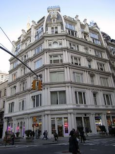 BIG OLD HOUSES:  My fav building in NYC after