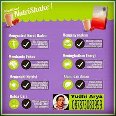 Get your wellness back with Nutrishake by @oriflame  Whatsapp 087873083999