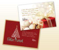 Criação de Cartões de Natal.