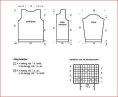 Afbeeldingsresultaat voor bernadette vest patroon gratis