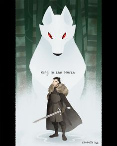 Jon Snow, King in the North . wait, not exactly XD King in the North King In The North, Iron Throne, Winter Is Here, Jon Snow, Batman, Deviantart, Superhero, Gallery, Artist