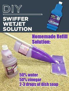 Swiffer WetJet DIY