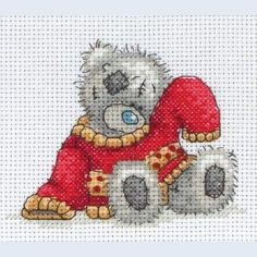 My Red Jumper - Me To You - Tatty Teddy - counted cross stitch kit Coats Crafts