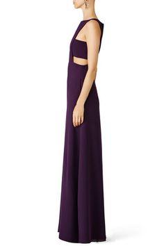 Elderberry Side Cut Out Gown by Jill Jill Stuart