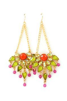 Crystal Madori Chandelier Earrings