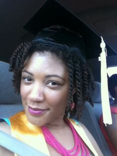 What The Kink?!: Natural Hair Styles for Graduation Caps