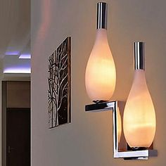Wall Sconces 2 Light Simple Modern Artistic – USD $ 99.99
