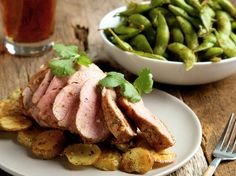 Honey Lime Glazed Pork. Sweet and savory make the perfect match in this family friendly dish. http://www.chefd.com/collections/all/products/honey-lime-glazed-pork-tenderloin