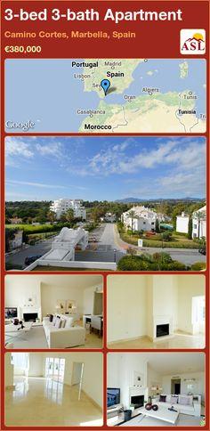3-bed 3-bath Apartment in Camino Cortes, Marbella, Spain ►€380,000 #PropertyForSaleInSpain