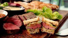 Steak-Sandwiches: Das Rezept von Gordon Ramsay