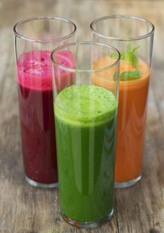 Raw Edibles: 3 Kidney Cleansing Juice Tonics