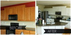 2nd Story Sewing: Painting Kitchen Cabinets: A How to Guide