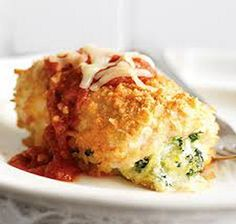 Chicken Parmesan Bundles (5 SmartPoints) #WeightWatchers #SmartPoints
