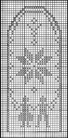 mittens pattern charts | other patterns in leaflet: