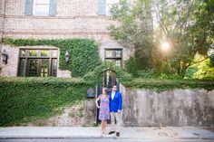 Colorful Downtown Charleston Engagement Session // Dana Cubbage Weddings // Charleston SC + Destination Wedding Photographer