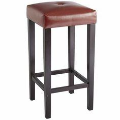 Button tufting enhances the Mason Barstool's simple lines and sleek design Sunroom Decorating, Interior Decorating, Decorating Ideas, Dining Room Furniture, Furniture Design, Black Bar Stools, Backless Bar Stools, Home Design Decor, Home Decor Inspiration