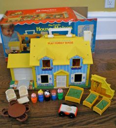 SPRINKLES AND PUFFBALLS: Vintage Fisher Price Toys
