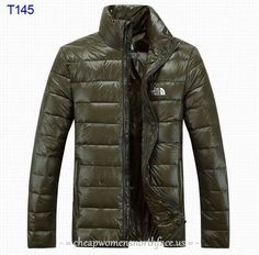 Discount The North Face Mens Down Jacket Deep Green