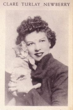 Clare Turlay Newberry (April 10, 1903 – February 12, 1970) was an American author and illustrator of children's books, who achieved fame for her drawings of cats, the subject of all but three of her books. Four of her works were named Caldecott Honor Books.
