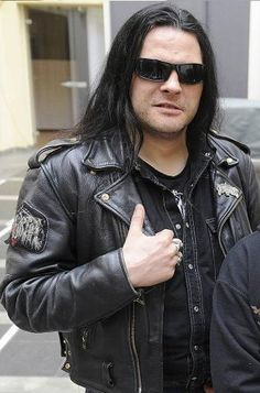 Abbath (Olve Eikemo) Of Immortal Without Corpse Paint.