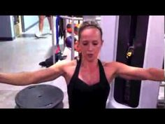 Female Fitness Workouts Consisting Of Circuit Training, Triceps, Biceps and Chest - YouTube