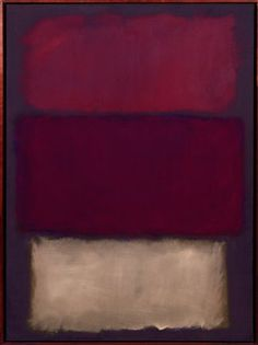 """'Untitled' Mark Rothko Painting. """"The color intensities are very meditative and inspirational"""""""