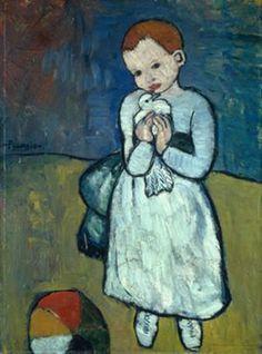 'Niño con Paloma', de Picasso
