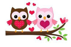 Búhos enamorados