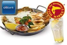[Daily Deal]RM24 for a Small Flame (savings of RM20.54 - Originally RM44.54) at all Manhattan Fish Market Outlets Nationwide,The Manhattan Fish Market (Mid Valley),Mid Valley City,The Manhattan Fish Market,Selangor.