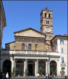 5 Favorite Reasons to Base Your Rome Vacation in Trastevere - Basilica di Santa Maria