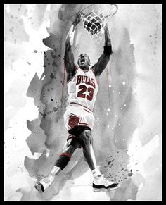 NBA Rareink by David Mahoney, via Behance