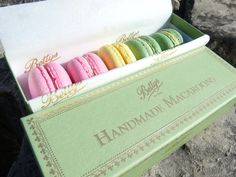 Macaroons from Betty's Tea Rooms, York. The best.