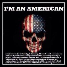 Born American ... Will Die American!!
