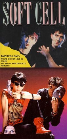 """Soft Cell """"Tainted Love"""" (1981) — CD Maxi Single Cover (top)"""