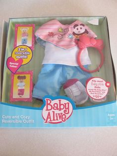 Baby Alive Clothes And Accessories Baby Alive Baby Go Byebye Blonde Doll Crawls Drinks Wets Talks