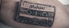 Discover a musical throwback with the top 50 best cassette tape tattoo designs for men. Record your own inspiration with cool retro ink ideas.