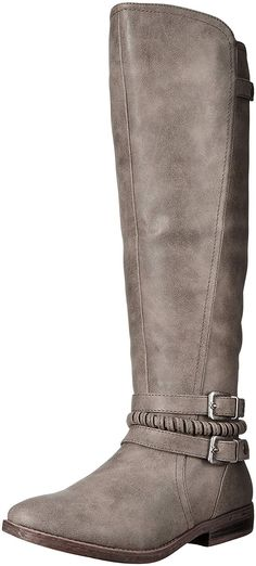 Rampage Women's Indap Riding Boot ** Nice of your presence to have dropped by to see our image. (This is our affiliate link) Cute Boots, Tall Boots, Knee High Boots, Smaller Calves, Boot Socks, Boots For Sale, Casual Boots, Bearpaw Boots, Ankle Straps