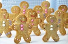 Deliciosas y atractivas galletas de jengibre decoradas