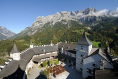 Scenic drive through AUSTRIA'S picturesque SALZACH VALLEY, visit the village of Werfen & experience a high-altitude encounter with the past at Hohenwerfen Fortress, a castle dating back 900 years. Description from pinterest.com. I searched for this on bing.com/images