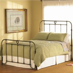Like this wrought iron bed.