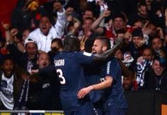 Paris Saint-Germain won their first French title since 1994 with a 1-0 success at Lyon Sunday
