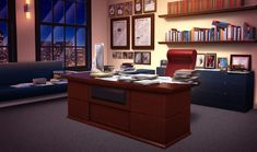 INT. PHILADELPHIA TIMES OFFICE - NIGHT