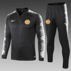 PSG Black Men Jacket Tracksuit Slim Fit 2 Item Specifics Brand: Nike Gender: Men's Adult Model Year: Material: Polyester Type of Brand Logo: Embroidered Type of Team Badge: Embroidered Football Jackets, Football Shirts, Soccer Jerseys, Soccer Gear, Football Tracksuits, Soccer Kits, Mens Boots Fashion, Men's Clothing, Nike Football